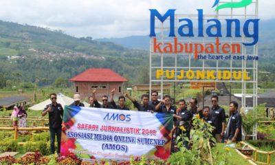 Sebanyak 16 media online yang tergabung dalam Asosiasi Media Online Sumenep (Amos) menggelar safari jurnalistik ke Kabupaten Malang dan Kota Batu, Jumat-Senin (21-24 Desember 2018). (Foto: NUSANTARANEWS.CO/M Mahdi)