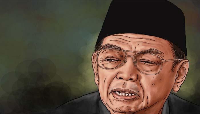 Gus Dur atau Adurrahman Wahid (Foto Dok. NU Online)