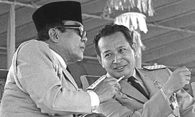 Kebersamaan Bung Karno dan Pak Harto (Foto Istimewa)