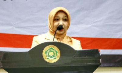 Ketua DWP Kemenag Eny Chumaisiyah Nur Kholis. (FOTO: Istimewa)