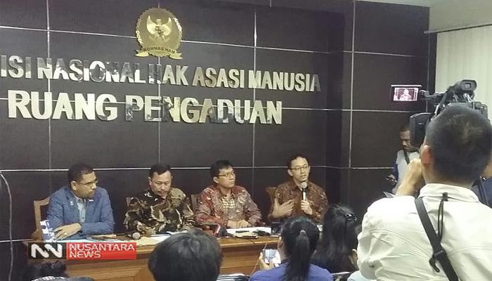 Ketua Komnas HAM, Ahmad Taufan Damanik (Foto Dok. NUSANTARANEWS
