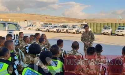 Kontingen UNIFIL Untuk Indonesia di Lebanon (Foto untuk NUSANTARANEWS.CO)