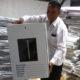 Petugas KPU memeriksa logistik Pemilu 2019 yang baru datang di gudang KPU, Malang, Jawa Timur, Kamis (1/11/2018). (FOTO: Antara)