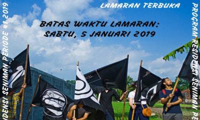 Lamaran Terbuka - Program Residensi Seniman. (FOTO: Cemeti)