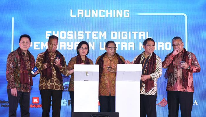 Kementerian Keuangan melalui Direktorat Jenderal Perbendaharaan meluncurkan Program Uji Coba Ekosistem Digital Pembiayaan Ultra Mikro (UMi). (FOTO: Dok. Kemenkeu)