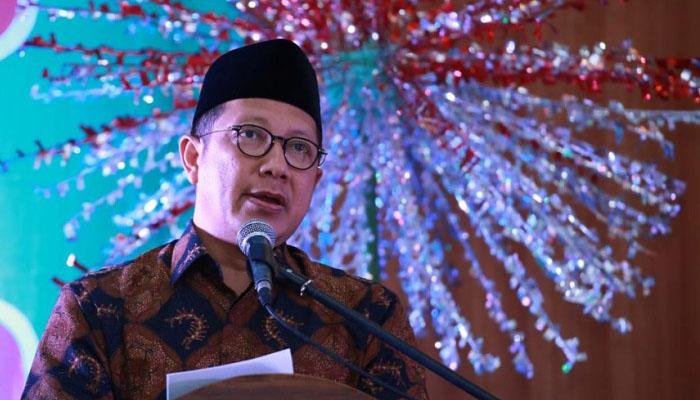 Menteri Agama Lukman Hakim Saifuddin Ucapkan Selamat Natal. (FOTO: DOk. Kemenag)