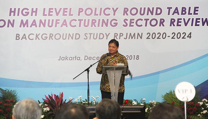 Menteri Perindustrian Airlangga Hartarto. (FOTO: NUSANTARANEWS.CO/Dok. Kemenperin)