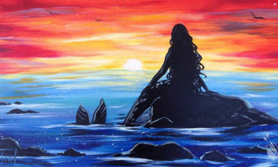 Mermaid Sunset (FOTO: Painting with a Twist)