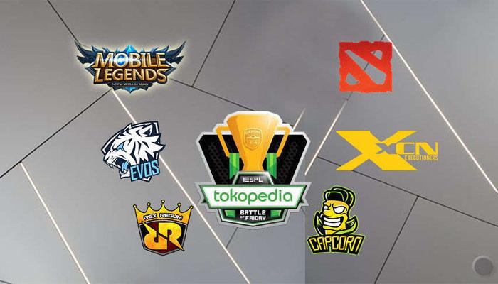 Big Match Mobile Legends dan Dota 2 Jadi Pertandingan Terakhir IESPL di 2018. (FOTO: Istimewa)