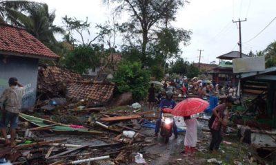 Para Korban Tsunami Selat Sunda (Foto Jaringan Jurnalis Indonesia NUSANTARANEWS.CO)