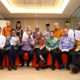 Tokoh Lintas Agama dan budayawan membacakan Risalah Jakarta. (FOTO: Dok. Kemenag/Rusdy)