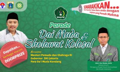 Parade Dai Muda dan Sholawat Kolosal akhir tahun. (Poster/Istimewa)