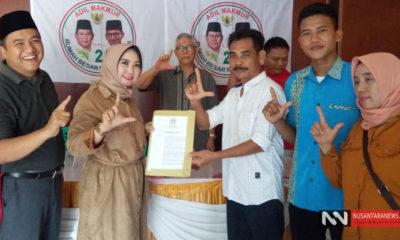 Pelantikan DPD Relawan PADI Kabupaten Pringsewu, Lampung (Foto Dok. NUSANTARANEWS.CO)