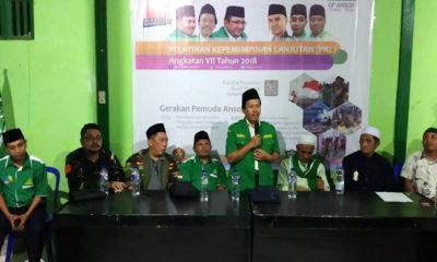 Pelatihan Kepemimpinan Lanjutan (PKL) PW Anshor Sulteng. (FOTO: NUSANTARANEWS.CO)