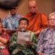 Sekjen Kemenag M Nur Kholis Setiawan di hadapan media, Sabtu (29/12) membacakan apresiasi Menteri Agama Lukman Hakim Saifuddin. (Foto: Dok. Kemenag)