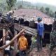 penanggulangan bencana, tanah longsor, kodim jember, gunung gambir, kabupaten jember, nusantaranews