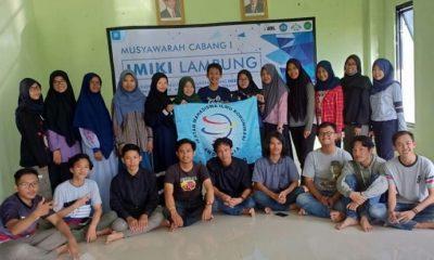 Pengurus Ikatan Mahasiswa Ilmu Komunikasi Indonesia (IMIKI) Cabang Provinsi Lampung. (FOTO: NUSANTARANEWS.CO/RFz)