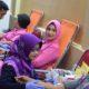 Peringati Hari Juang Kartika dan HUT Kodam V/Brawijaya, Korem 081/DSJ menggelar kegiatan donor darah. (FOTO: Penrem081)