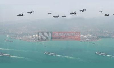 Pertahanan Indonesia di Natuna atas ambisi Cina melebarkan wiilayah teritori Laut Cina Selatan. (FOTO ILUSTRASI: NUSANTARANEWS.CO)