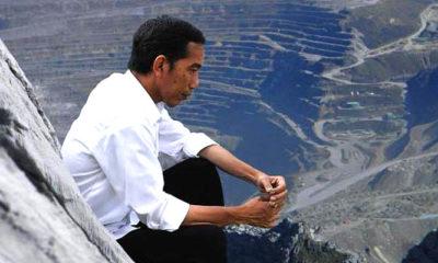 Presiden RI Joko Widodo di kawasan Freeport, Papua. (FOTO: Istimewa)