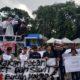 Ratusan Mahasiswa Medesak Presiden Jokowi Sejahterakan Petani Sawit dan Karet (Foto Istimewa/ NUSANTARANEWS.CO)