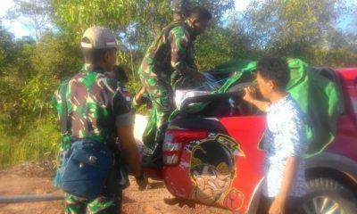indonesia-papua nugini, perbatasan indonesia, satgas pamtas, yonmek 521 dy, penyelundupan miras, minuman keras ilegal, wilayah perbatasan, nusantaranews, pengamanan perbatasan, botol miras