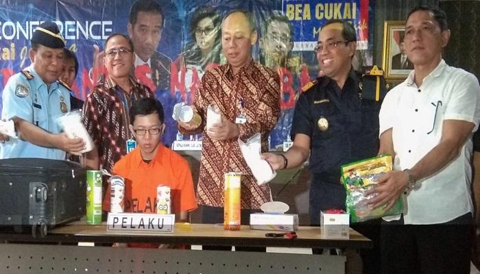 penyelundupan sabu, warga malaysia, sabu, juanda surabaya, kasus sabu, nusantaranews