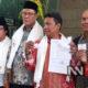 Tim Khusus Pemantapan Pemenangan Jokowi Ma'ruf Amin bersama Kordinator Tim Relawan Bersatu Ayep Zaki melaporkan terduka Penghina KH Ma'ruf Amin (Foto Ddok. NUSANTARANEWS.CO)