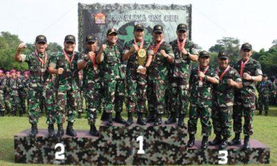 Tim Tembak TNI AD Juarai Lomba Tembak Piala Panglima TNI. (FOTO: NUSANTARANEWS.CO/Istimewa)