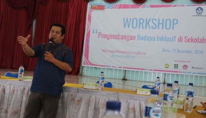 Workshop Pengembangan Budaya Inklusif (Foto Kholisoh Untuk NUSANTARANEWS.CO)