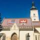 St Mark's Church atau Gereja Mark's Church. Didirikan pada Abad 13, Bangunan Berada di Jantung Kota Zagreb. Di Depannya Terdapat Sebuah Ruang Terbuka Semacam Alun-Alun. St Mark's Church ini Menjadi Ikon Kota Tua Zagreb. (Foto Dok. NUSANTARANEWS.CO)