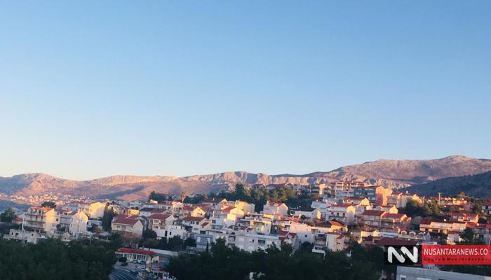 Pemandangan Menakjubkan Pemukiman di Desa-Desa Dekat Kota Zagreb, Ibukota Kroasia. (Foto Dok. NUSANTARANEWS.CO)