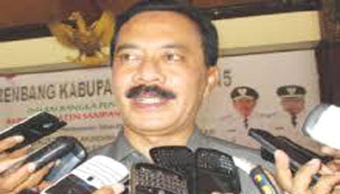 kepala Dinas Perhubungan Jatim Fattah Yasin. (FOTO: NUSANTARANEWS.CO/Setya)