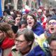 rompi kuning, protes perancis, syal merah, demonstran perancis, protes pajak, massa adu massa, adu massa, demonstrasi perancis, nusantaranews