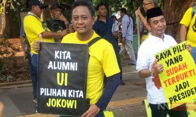 Alumni UI Gelar Dukungan Untuk Jokowi (Foto Dok. NUSANTARANEWS.CO)