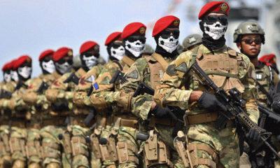 Anggota TNI (Foto Ahmad Khusaini Jawa Pos)