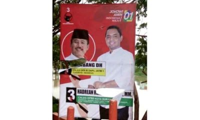 Atribut Kampanye Raib dan Rusak, Caleg PDIP Kesal