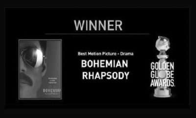 Bohemian Rhapsody Best Motion Picture Drama Golden Globe 2019. (FOTO: @goldenglobes)