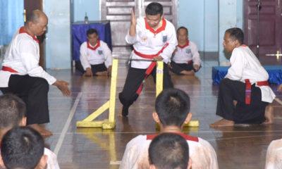 Cabang Khusus Merpati Putih Dharma Wiratama Seskoal Terima 142 Anggota Baru Kolat Perwira Mahasiswa