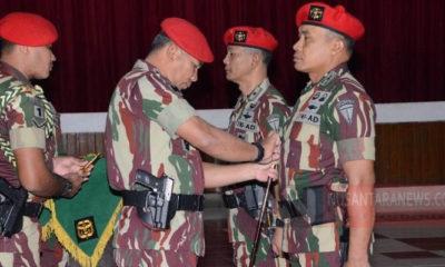 Danrem Surya Kencana, Bogor, Kolonel Inf Mohammad Hasan kini resmi menjabat Wakil Komandan Jenderal (Wadanjen) Kopassus menggantikan Brigjen TNI Richard HT Tampubolon (Foto untuk NUSANTARANEWS.CO)