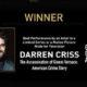 Darren Criss Raih Best Actor Limited Series Pertama Kali di Golden Globe 2019. (Foto: @goldenglobes)