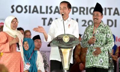 Di Trenggalek, Jokowi Sebut Dana Desa 2019 Sebanyak 73 Triliun, nusantaranewsco