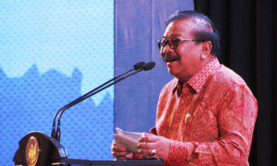 Gubernur Jawa Timur Soekarwo. (FOTO: NUSANTARANEWS.CO/Setya)
