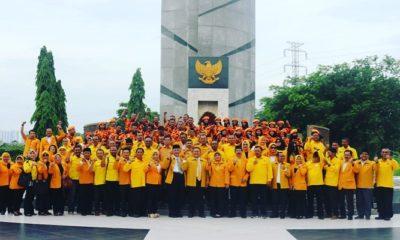 HUT MKGR ke-59, Golkar Jatim, Pilpres Harus Menangkan Jokowi-Ma'ruf Amin 70 Persen, nusantaranewsco