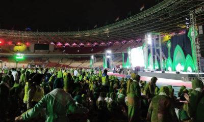 Harlah Muslimat NU ke-73 di GBK, Jakarta (Foto Istimewa)