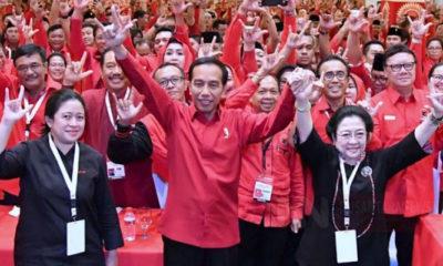 Jokowi Bersama Ketua Umum PDIP Megawati (Foto Dok. PDIP)