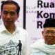 Jokowi dan KH Ma'ruf Amin (Foto Istimewa)