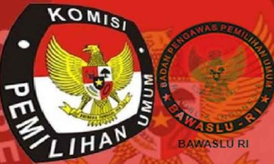 Logo KPU dan Bawaslu RI. (Foto: Ilustrasi/NUSANTARANEWS.CO)