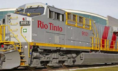 Kereta Api Otonom - Rio Tinto di Australia. (FOTO: Istimewa)