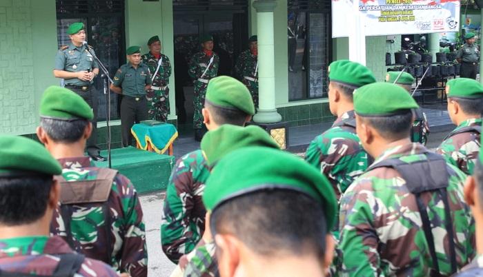 Komandan Kodim 0808/Blitar Letkol Inf Kris Bianto. (FOTO: NUSANTARANEWS.CO)
